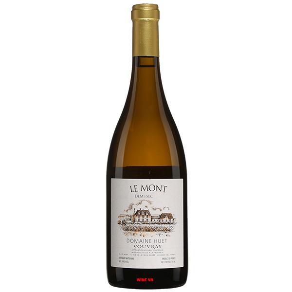 Rượu Vang Domaine Huet Vouvray Le Mont Demi Sec