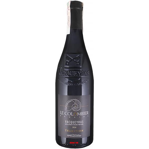 Rượu Vang Domaine Le Colombier Tradition Vacqueyras