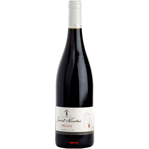 Rượu Vang Domaine Saint Nicolas Reflets