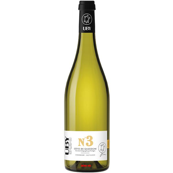 Rượu Vang Domaine UBY No 3 Cotes De Gascogne