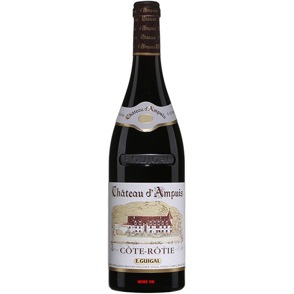 Rượu Vang E.Guigal Chateau d'Ampuis Cote Rotie