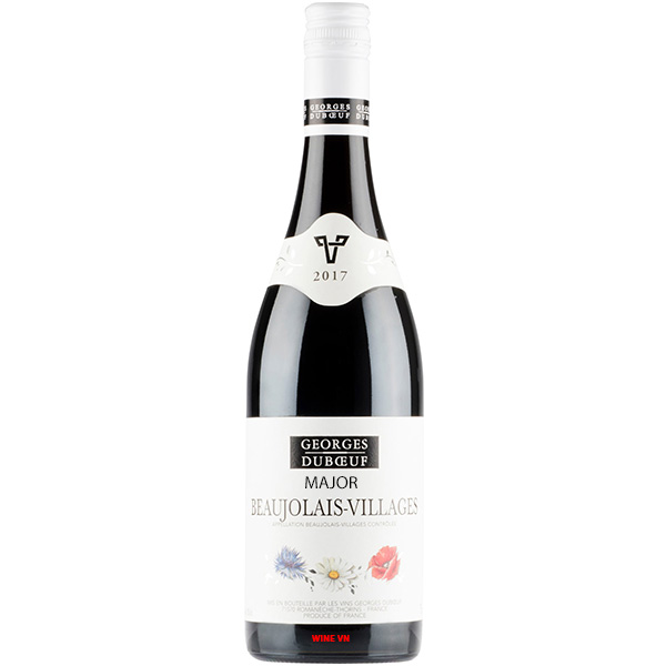 Rượu Vang Georges Duboeuf Major Beaujolais Villages