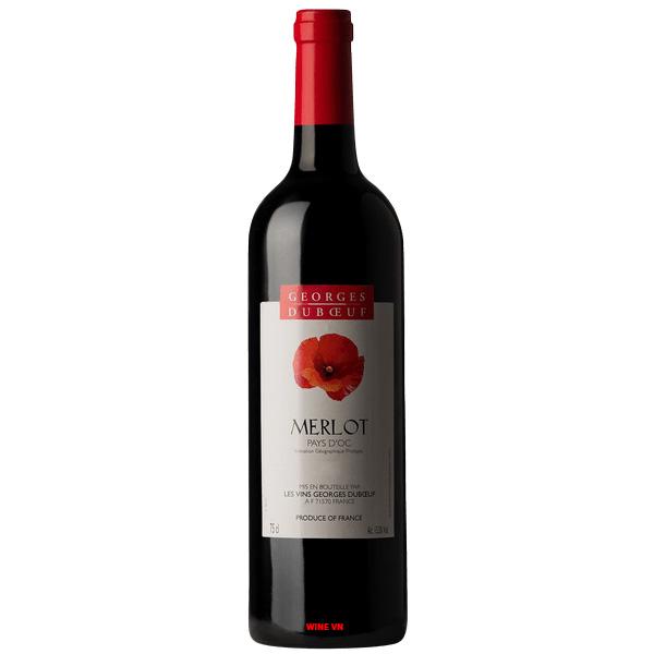 Rượu Vang Georges Duboeuf Merlot Pays D'OC