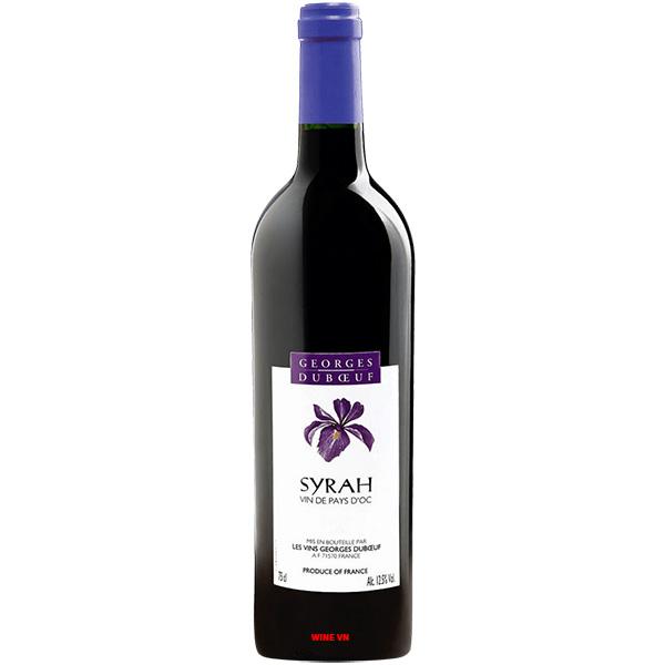 Rượu Vang Georges Duboeuf Syrah