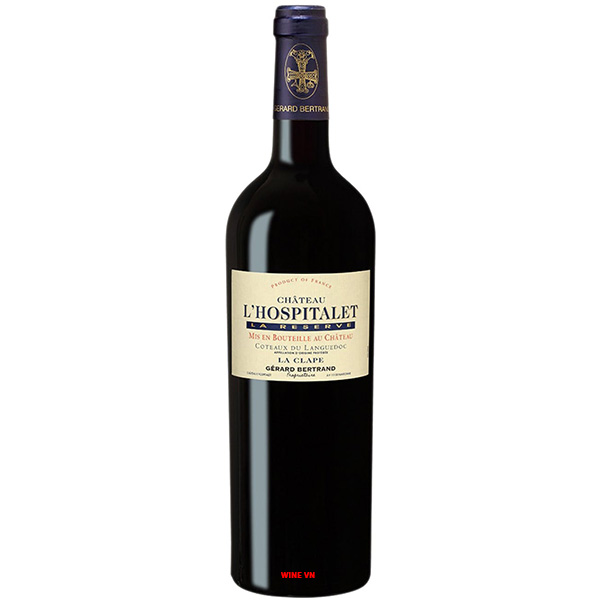 Rượu Vang Gerard Bertrand Château l'Hospitalet La Clape
