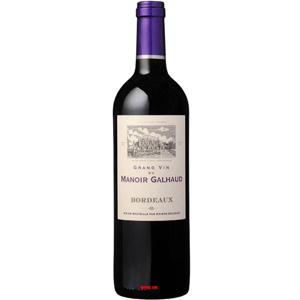 Rượu Vang Grand Vin Du Manoir Galhaud