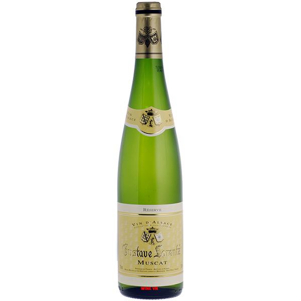 Rượu Vang Gustave Lorentz Alsace Muscat