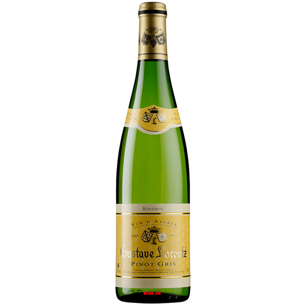 Rượu Vang Gustave Lorentz Alsace Pinot Gris Reserve