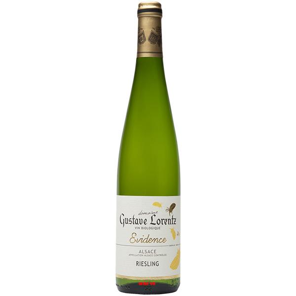 Rượu Vang Gustave Lorentz Alsace Riesling Evidence