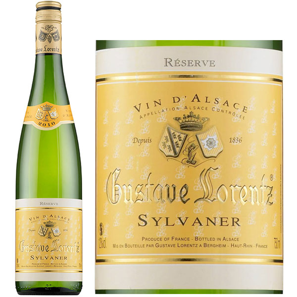 Rượu Vang Gustave Lorentz Alsace Sylvaner Reserve