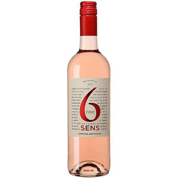 Rượu Vang Hồng Gerard Bertrand 6eme Sens
