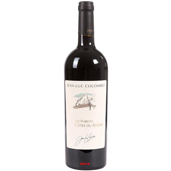 Rượu Vang Jean Luc Colombo Les Forots Cotes Du Rhone