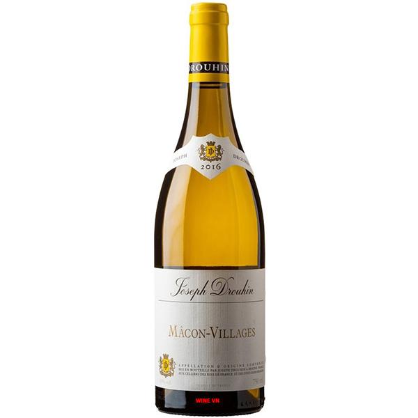 Rượu Vang Joseph Drouhin Macon Villages