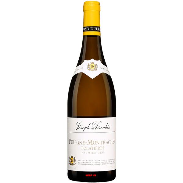 Rượu Vang Joseph Drouhin Puligny Montrachet Folatieres