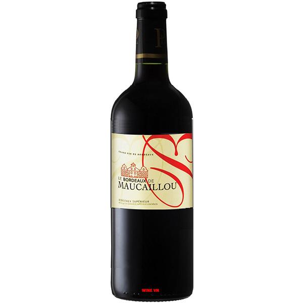 Rượu Vang Le Bordeaux De Maucaillou