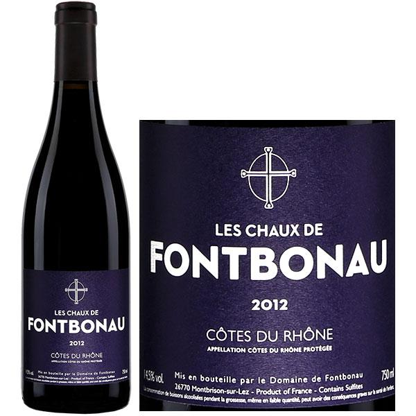Rượu Vang Les Chaux De Fontbonau Cotes Du Rhone