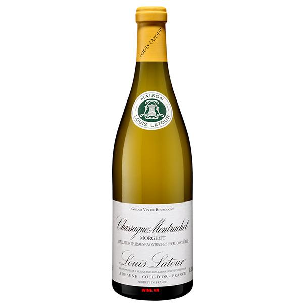 Rượu Vang LouisLatour Chassagne Montrachet Morgeot