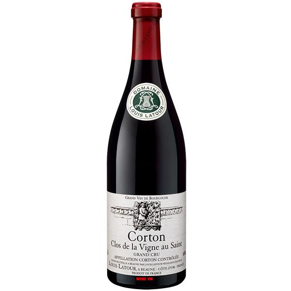 Rượu Vang Louis Latour Corton Clos De La Vigne Au Saint