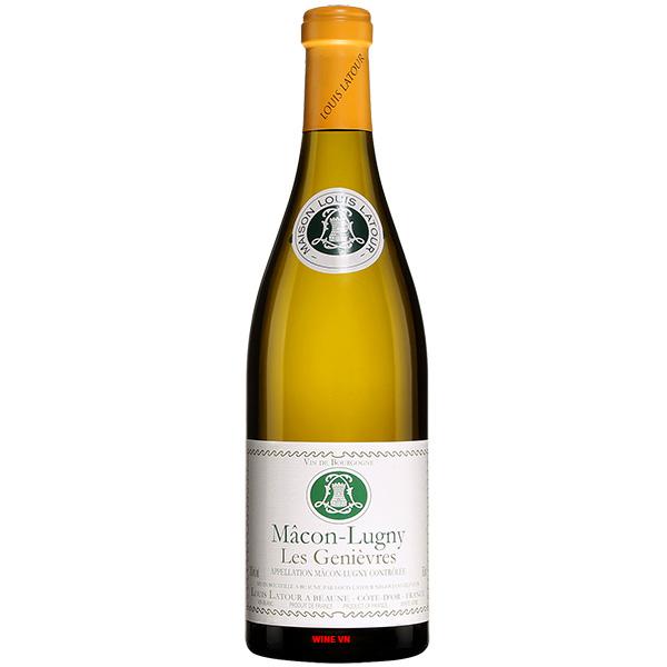 Rượu Vang Louis Latour Macon Lugny Les Genièvres