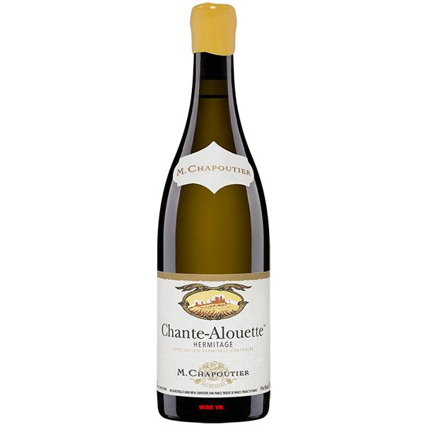 Rượu Vang M.Chapoutier Chante Alouette Hermitage
