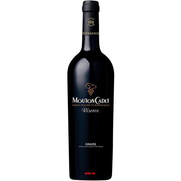 Rượu Vang Mouton Cadet Reserve Graves