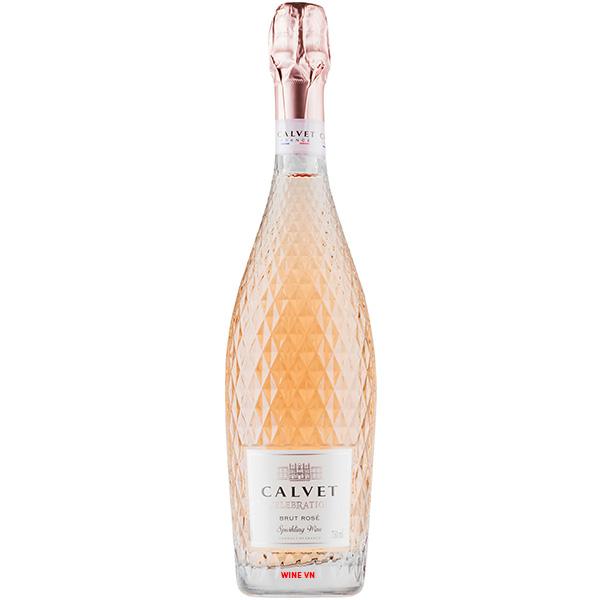 Rượu Vang Nổ Calvet Celebration Sparkling Rose