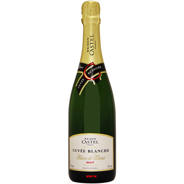 Rượu Vang Nổ Maison Castel Cuvee Blanche