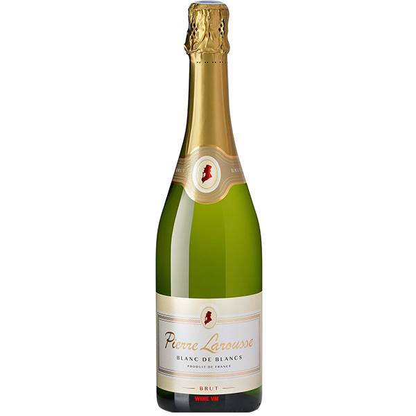 Rượu Vang Nổ Pierre Larousse Blanc De Blancs