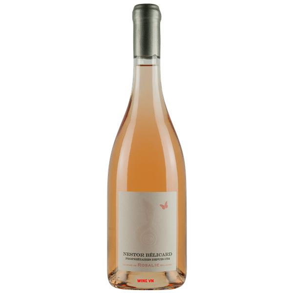 Rượu Vang Nestor Belicard Rose De Rosalie Belicard Beaujolais