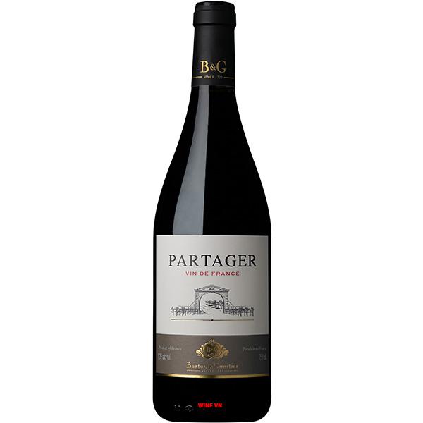 Rượu Vang Partager Barton & Guestier