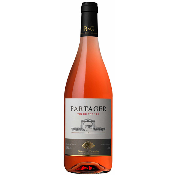 Rượu Vang Partager Rose Barton & Guestier