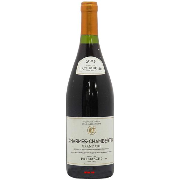 Rượu Vang Patriarche Charmes Chambertin Grand Cru