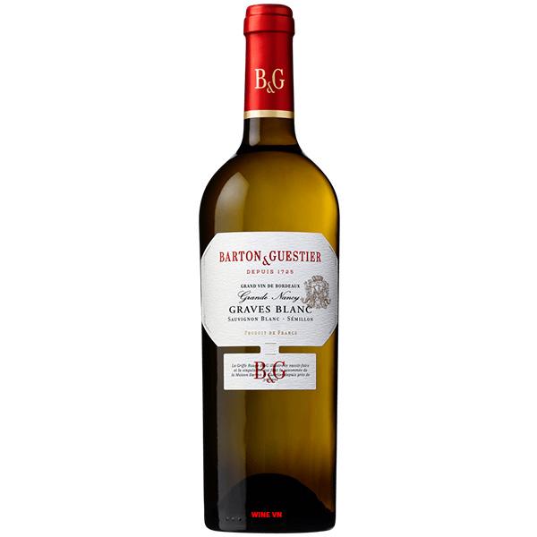 Rượu Vang Pháp B & G Graves Blanc
