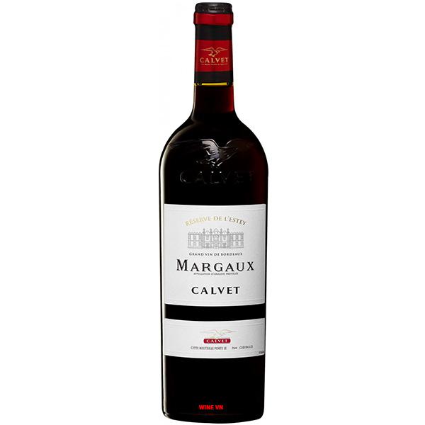 Rượu Vang Pháp Calvet Margaux