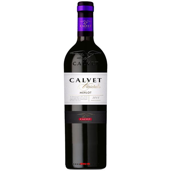 Rượu Vang Pháp Calvet Varietal Merlot