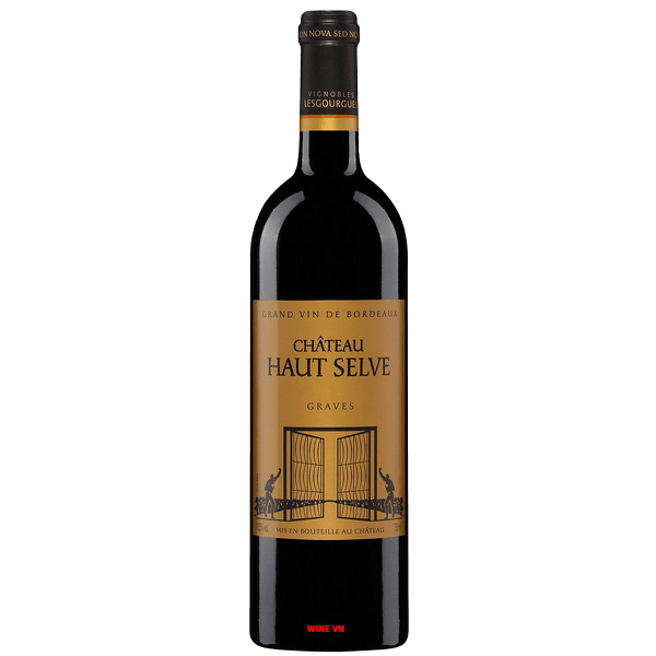Rượu Vang Pháp Chateau Haut Selve Graves