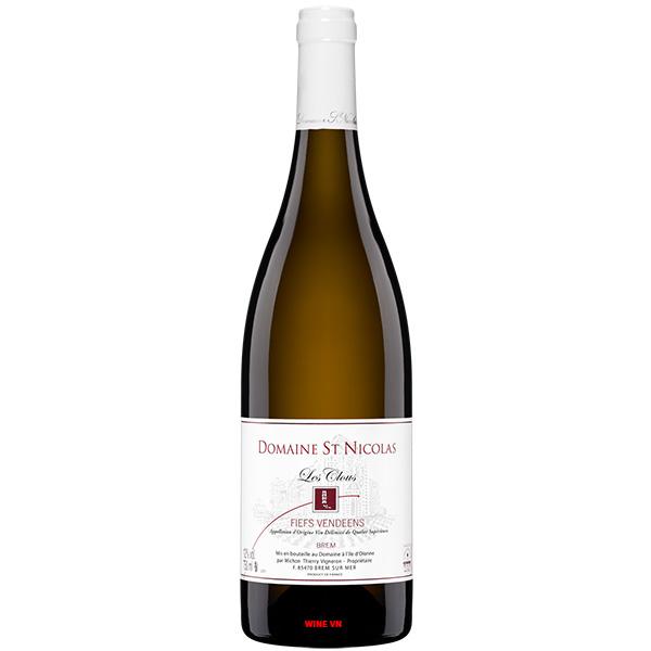 Rượu Vang Pháp Domaine Saint Nicolas Les Clous