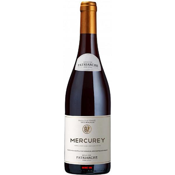 Rượu Vang Pháp Patriarche Mercurey