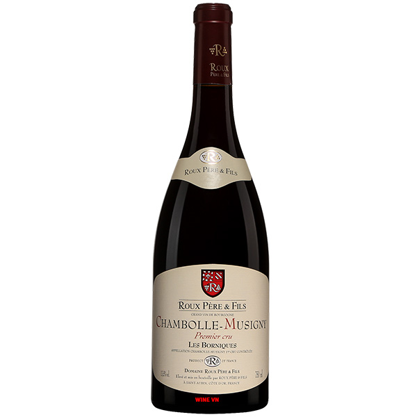 Rượu Vang Pháp Roux Pere & Fils Chambolle Musigny