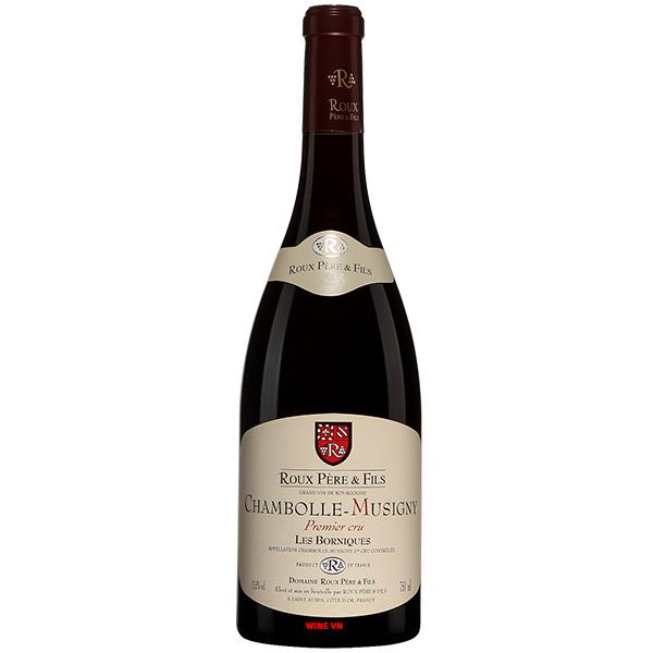 Rượu Vang Pháp Roux Pere & Fils Chambolle Musigny