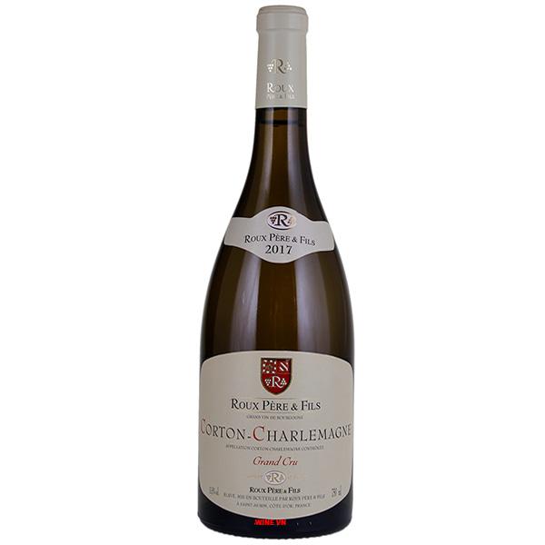 Rượu Vang Roux Pere & Fils Corton Charlemagne Grand Cru