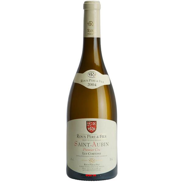 Rượu Vang Roux Pere & Fils Saint Aubin Les Cortons