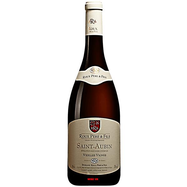 Rượu Vang Roux Pere & Fils Saint Aubin Vieilles Vignes