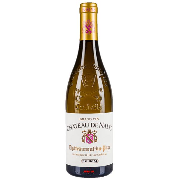 Rượu Vang Trắng Chateau De Nalys Chateauneuf Du Pape