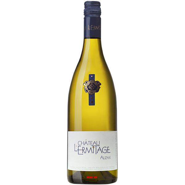 Rượu Vang Trắng Chateau L'Ermitage Auzan