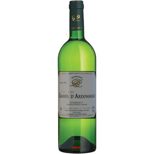Rượu Vang Trắng Domaine Des Graves D'Ardonneau