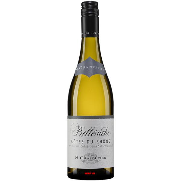 Rượu Vang Trắng M.Chapoutier Belleruche Côtes Du Rhone