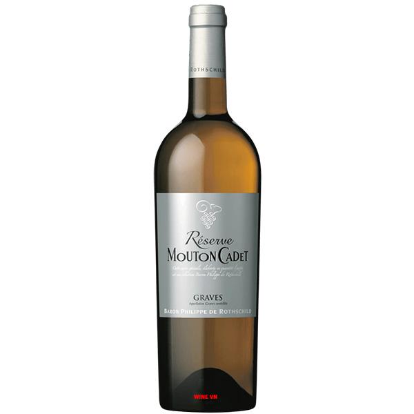 Rượu Vang Trắng Mouton Cadet Reserve Graves