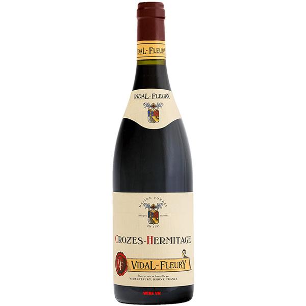 Rượu Vang Vidal Fleury Crozes Hermitage