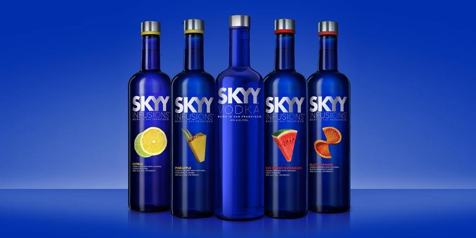 rượu Vodka Skyy